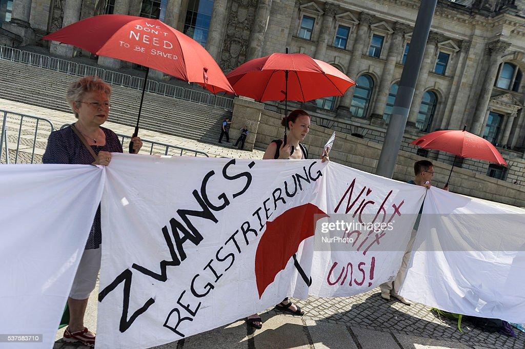 Sexworker Protest in Berlin : Nachrichtenfoto