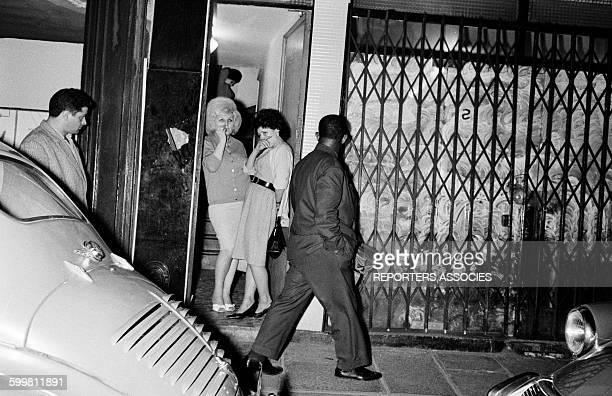 Prostitutes in the Rue SaintDenis Area in Paris France in 1960