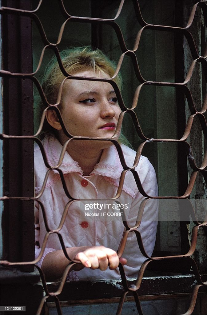Prostitution's development In Moscow, Russia In June, 1994 - Elena, 19, prostitute, dreams to be a model.