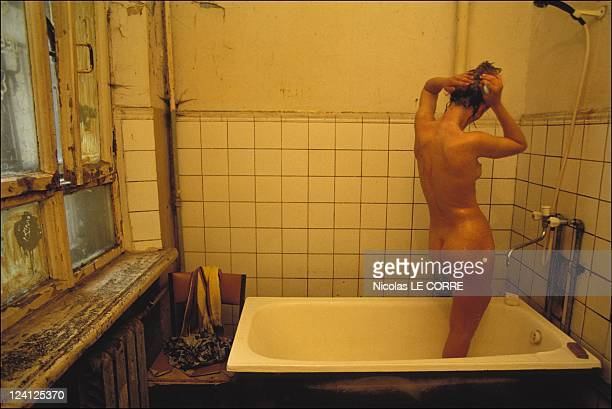Prostitution's development In Moscow Russia In June 1994 Hospital shower for all the patients
