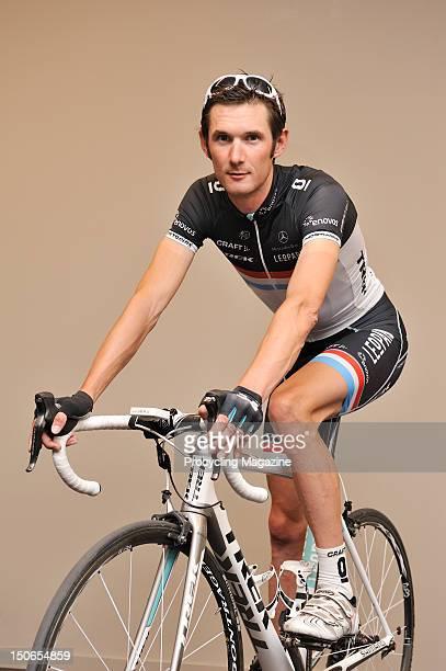 ProTeam Leopard Trek cyclist Frank Schleck in Belgium, April 28, 2011.