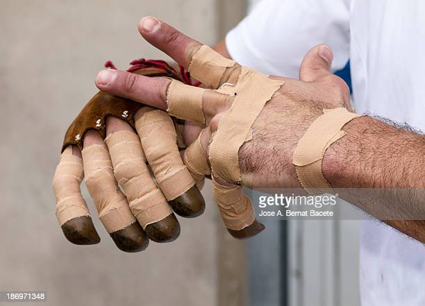 Protección de las manos para practicar deporte