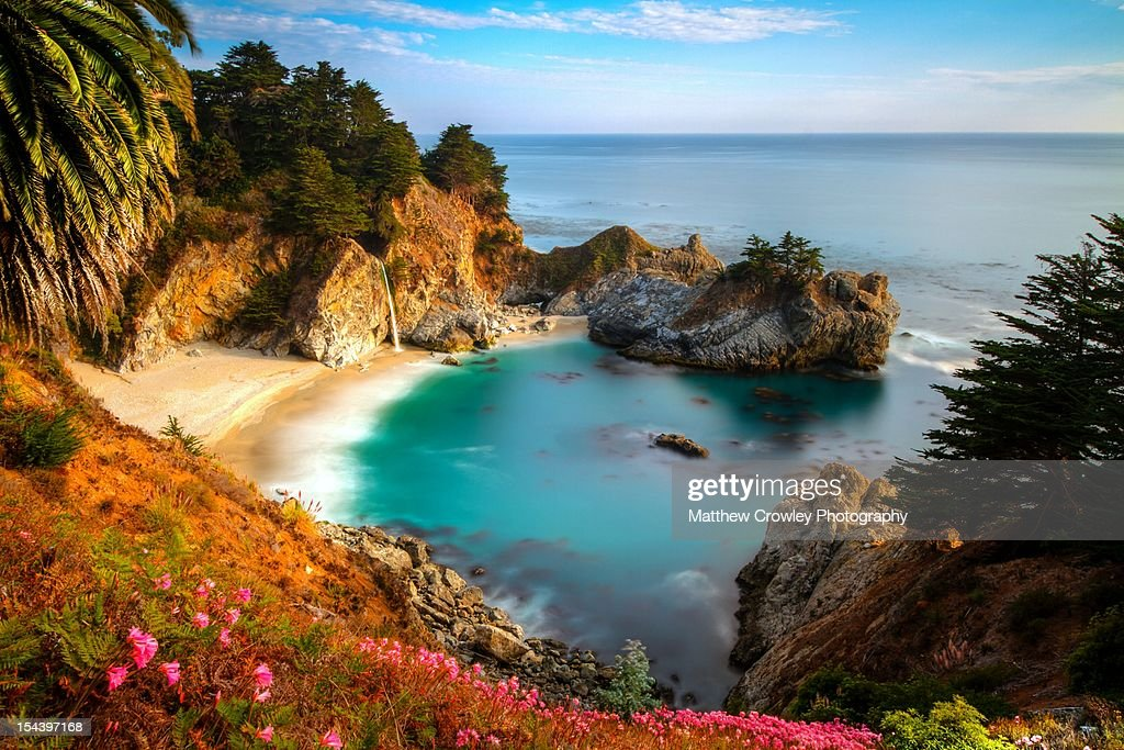 Protected Cove and McWay Falls : Stock Photo
