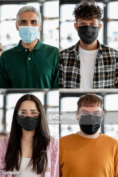 protecting themselves during a pandemic - flatten the curve stock pictures, royalty-free photos & images