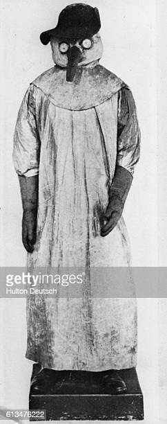 Protective clothing worn by doctors during the Great Plague
