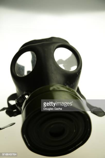 protective military gas mask - military uniform stock pictures, royalty-free photos & images