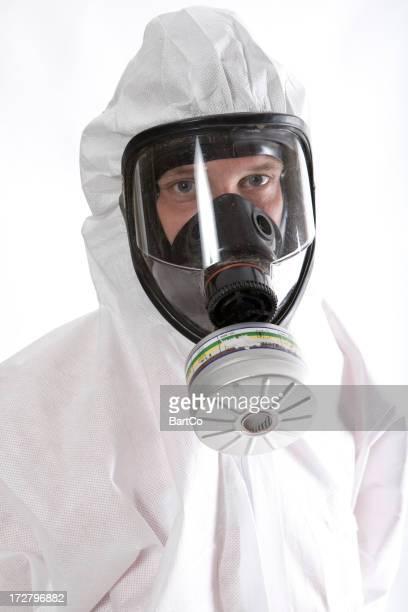 Schutz- und Arbeitskleidung für Arbeiter.