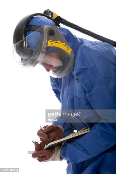 Protective workwear for manual worker.