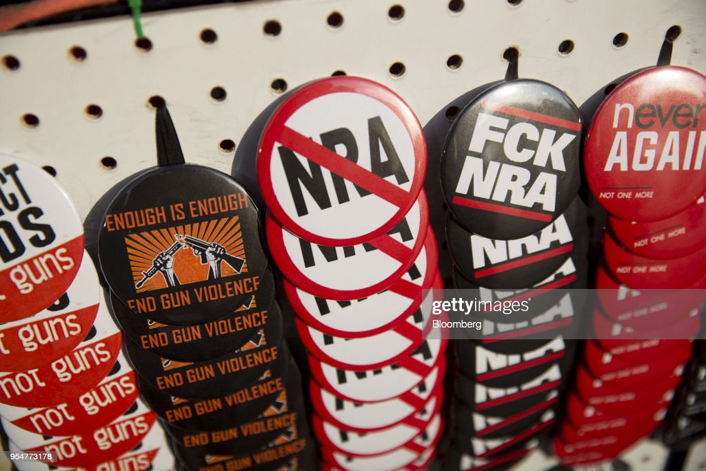 Demonstrators Attend A Die In Rally During The NRA Annual Meeting : News Photo