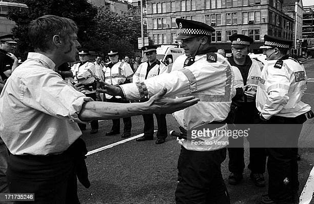 CONTENT] Protest during the G8 in Glasgow