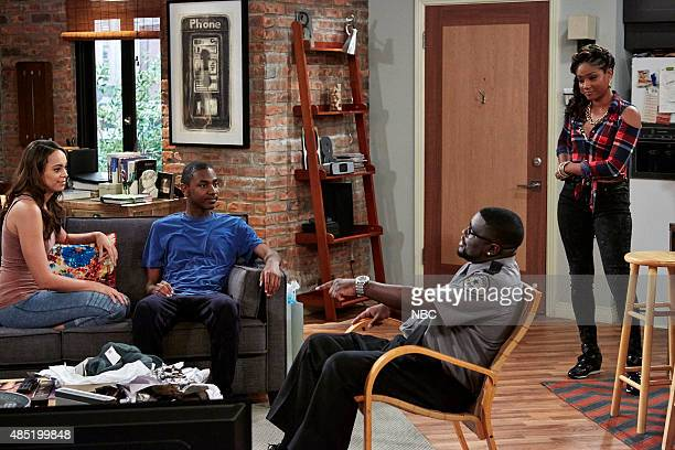 SHOW Protest Episode 104 Pictured Amber Stevens West as Maxine Jerrod Carmichael as Jerrod Lil Rel Howery as Booby Carmichael Tiffany Hagdish as...