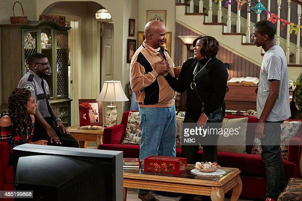 SHOW Protest Episode 104 Pictured Tiffany Hagdish as Nekeisha Lil Rel Howery as Booby Carmichael David Alan Grier as Joe Carmichael Loretta Devine as...