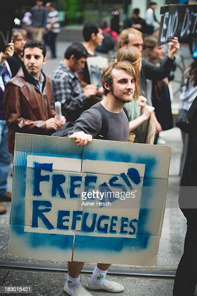 CONTENT] Protest in Melbourne Australia about Australia Government Refugee Policy