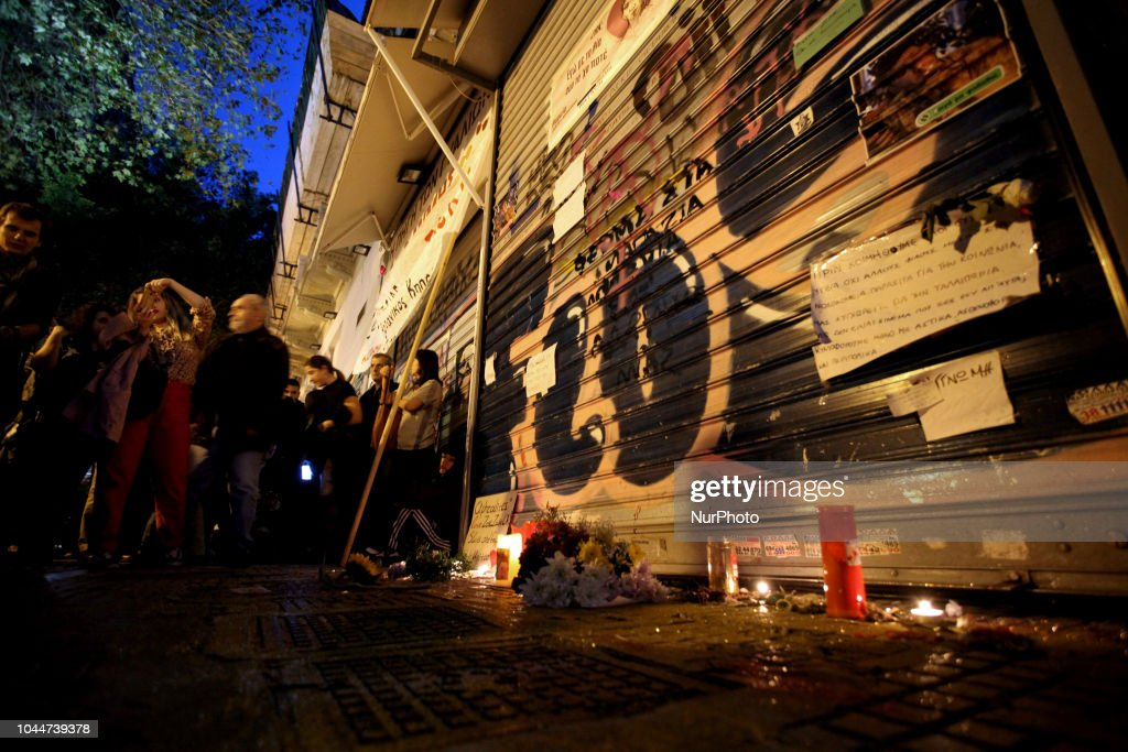 Protest March For The Murder Of Activist Zak Kostopoulos in Athens : News Photo