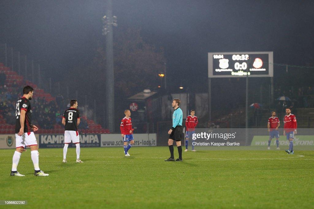 SpVgg Unterhaching v 1. FC Kaiserslautern - 3. Liga : News Photo