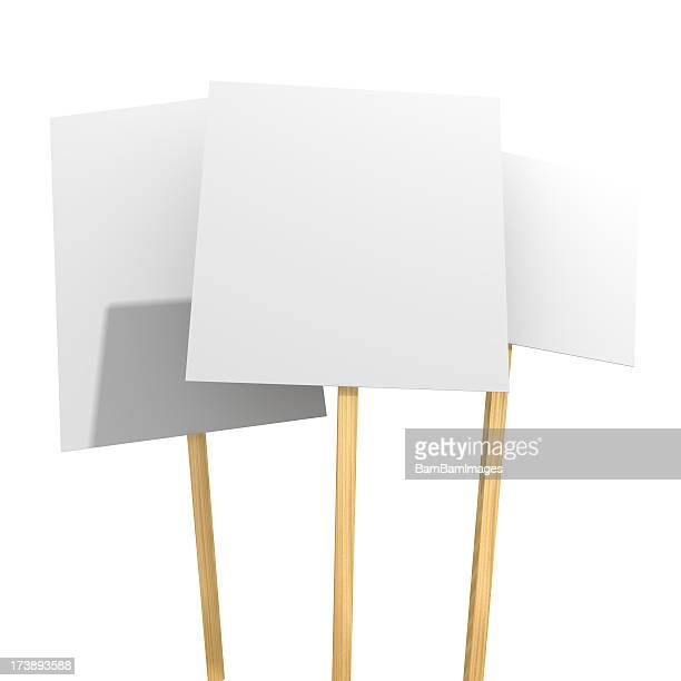 protest placards - placard stock pictures, royalty-free photos & images