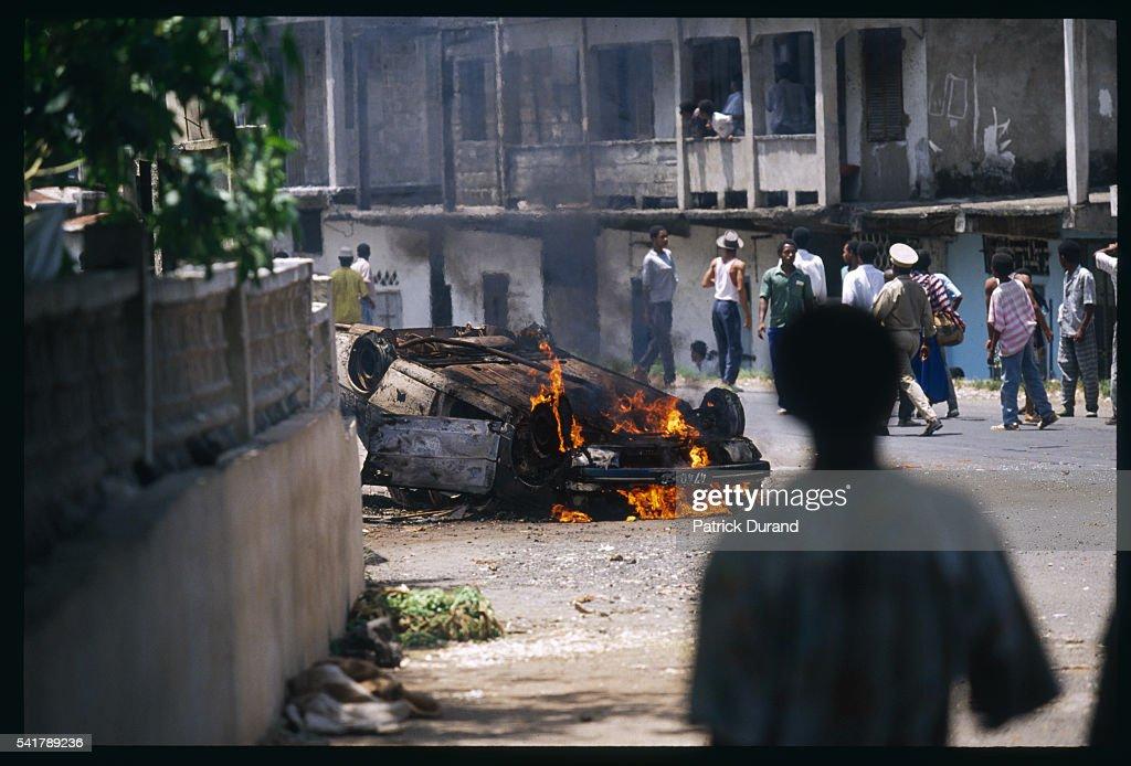 Mercenaries Involved in Coups in Comoros : Photo d'actualité