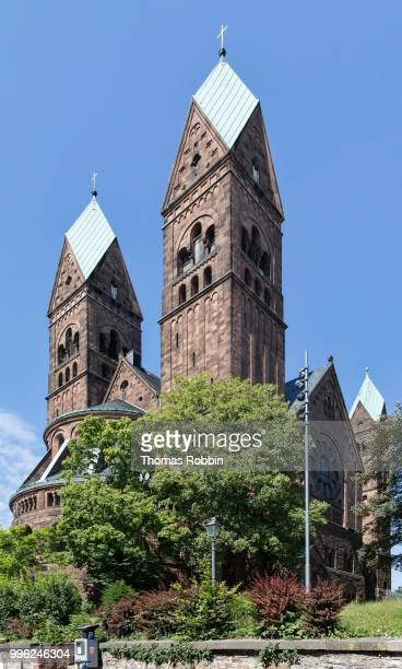 protestant church of the redeemer, bad homburg, hesse, germany - bad homburg stock pictures, royalty-free photos & images