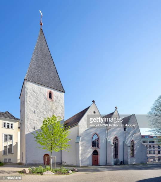 protestant market church st. johann, lage, east westphalia, north rhine-westphalia, germany - paisajes de st thomas fotografías e imágenes de stock