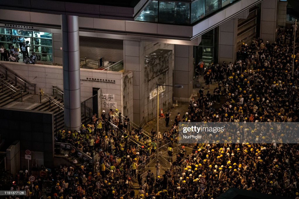 Hong Kongers Protest Over China Extradition Bill : ニュース写真