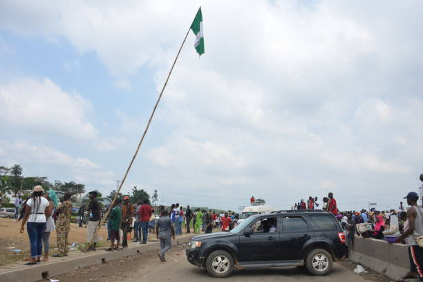 NGA: Demonstration Against Police Brutality In Nigeria