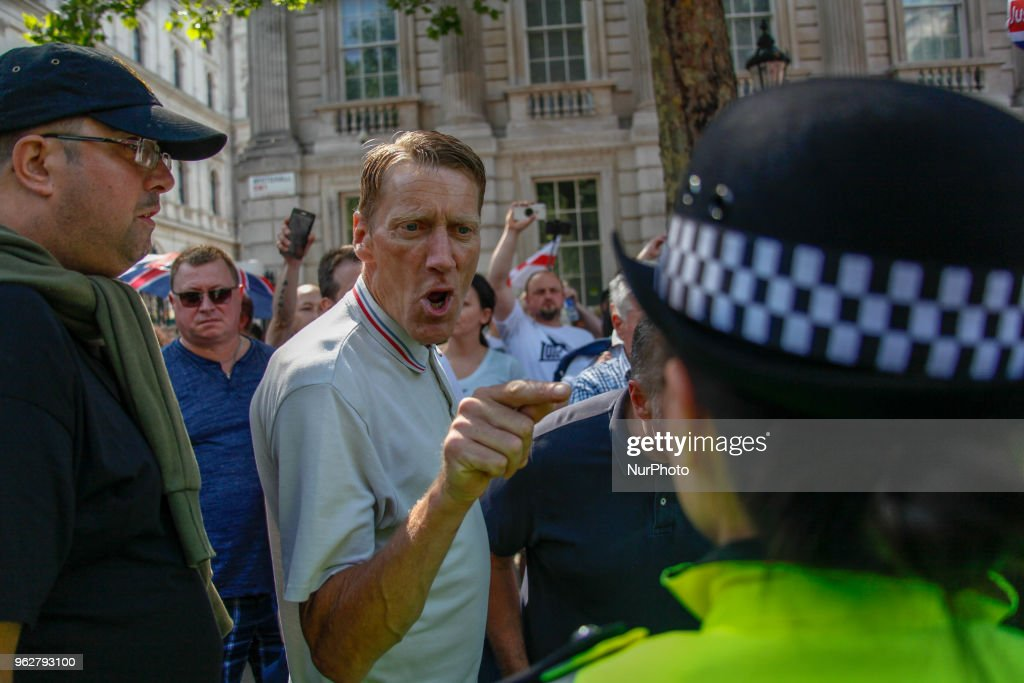 Far-Right Activist Protest In London