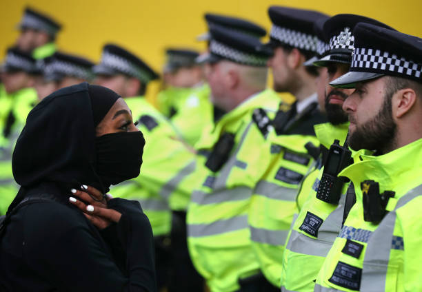 GBR: Black Lives Matter Demonstrations In UK Continue Into The Weekend