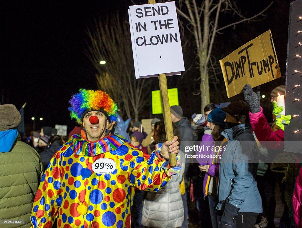 Donald Trump Holds Campaign Rally In Burlington, VT : News Photo