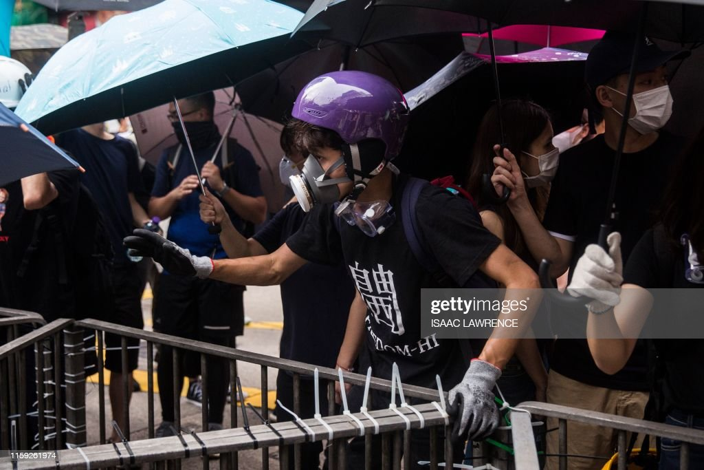 HONG KONG-CHINA-POLITICS : News Photo