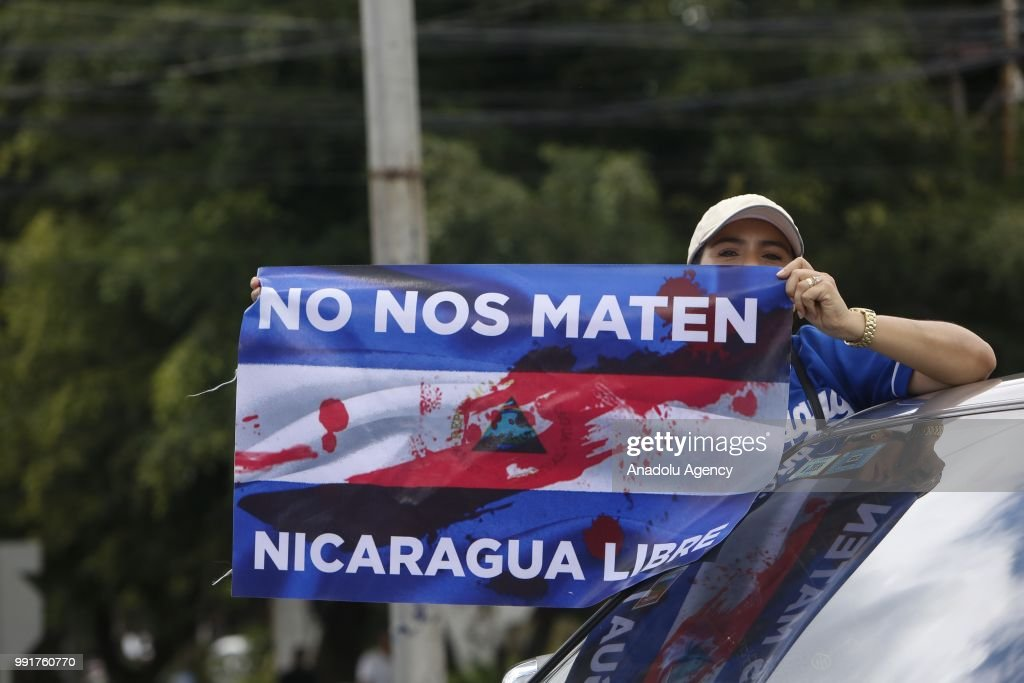 Protest in Nicaragua : News Photo