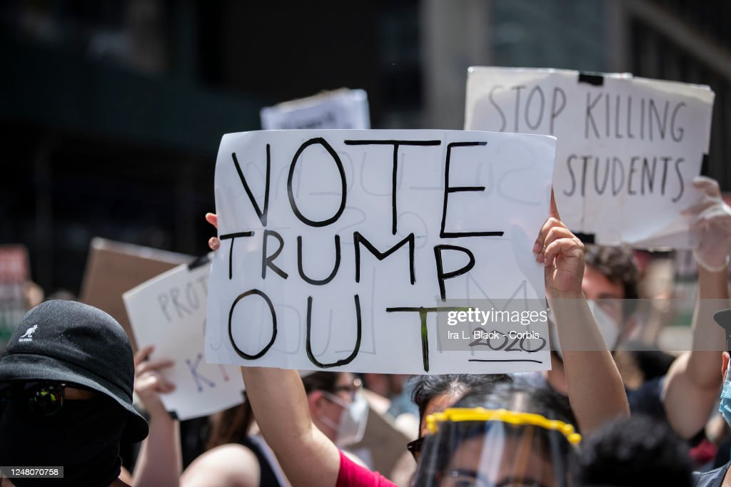 News - George Floyd Protest- New York City : News Photo