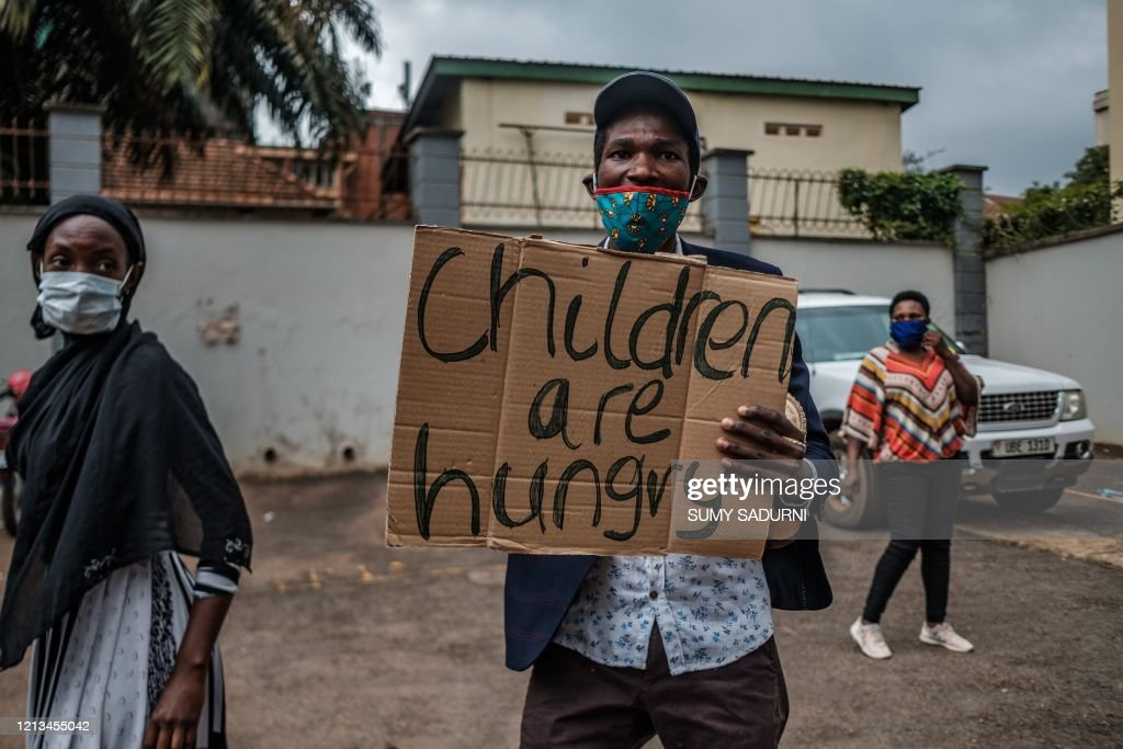 UGANDA-HEALTH-VIRUS-DEMONSTRATION : News Photo
