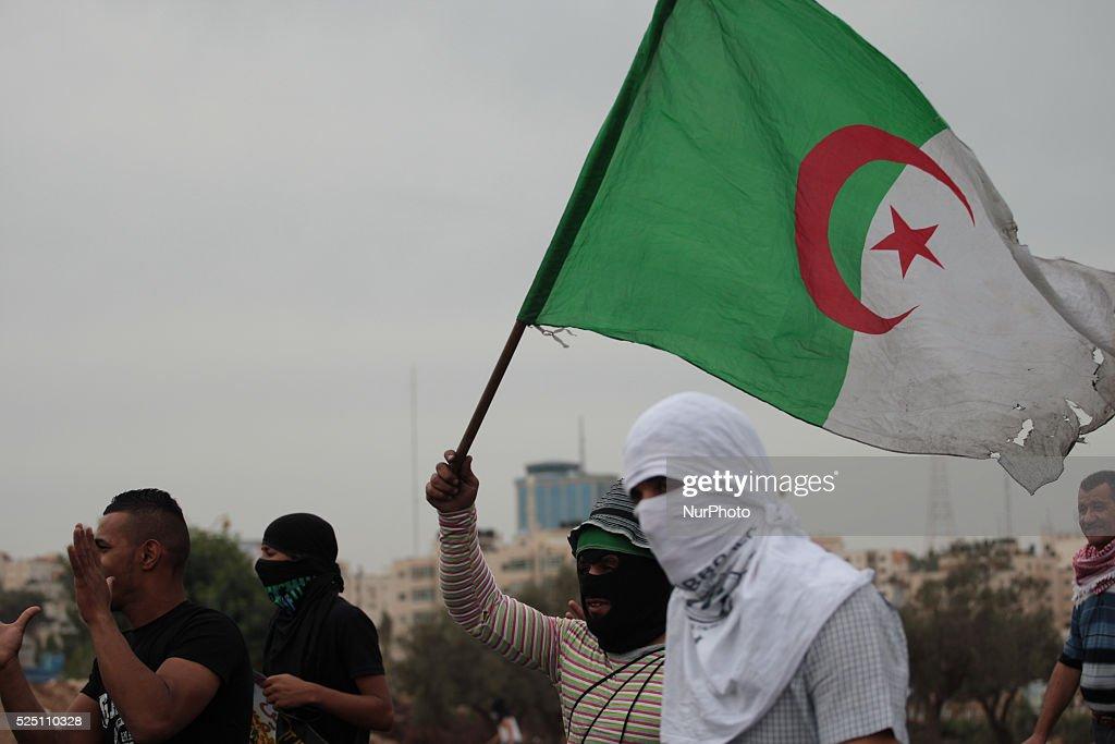 Clashes near Ramallah : News Photo