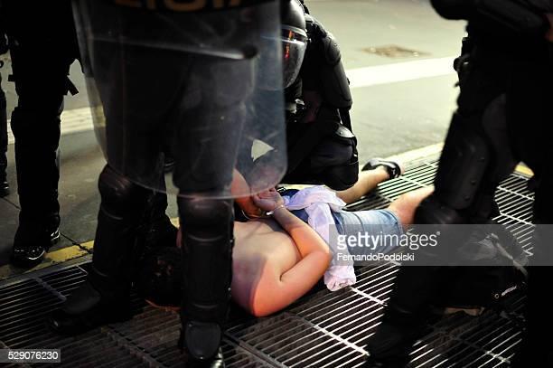 Protester Prisoner