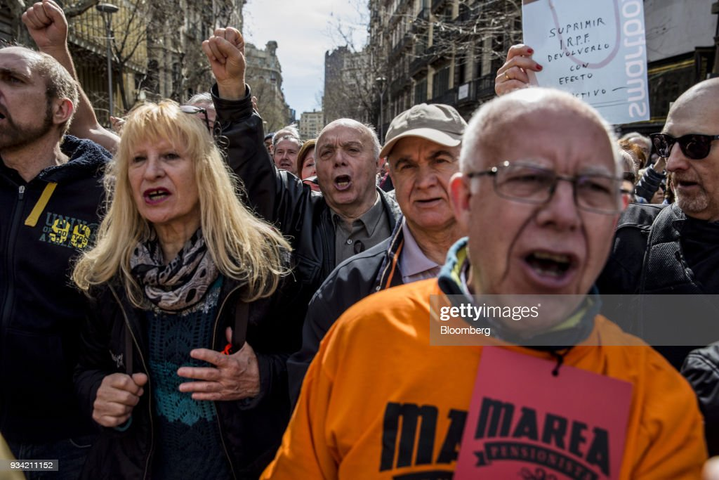 Pensioners March To Demand Better Pensions