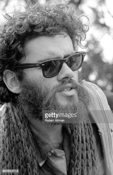 Protester Roger Alvarado poses with sunglasses during the San Francisco State Student Strike circa February 1969 in San Francisco California