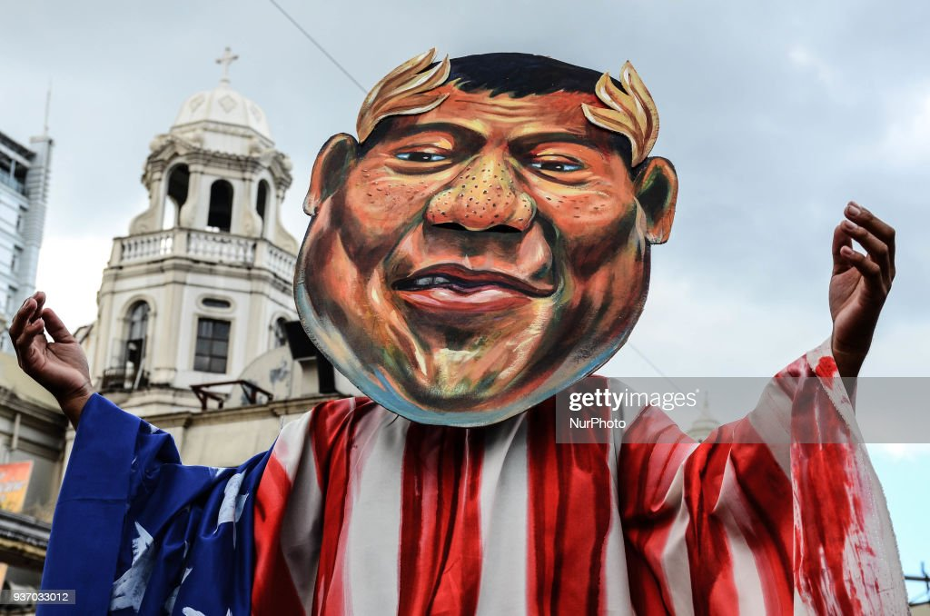 Protest against President Duterte in Manila