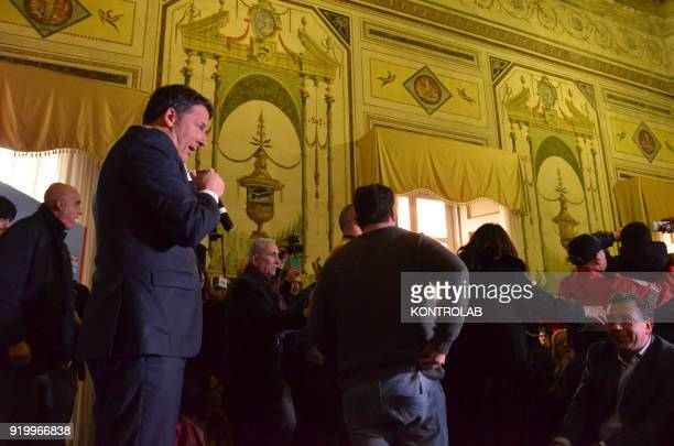 A protester verbally assaulted Matteo Renzi on implemented policies when Matteo Renzi was Prime Minister but the protester was quickly stopped and...