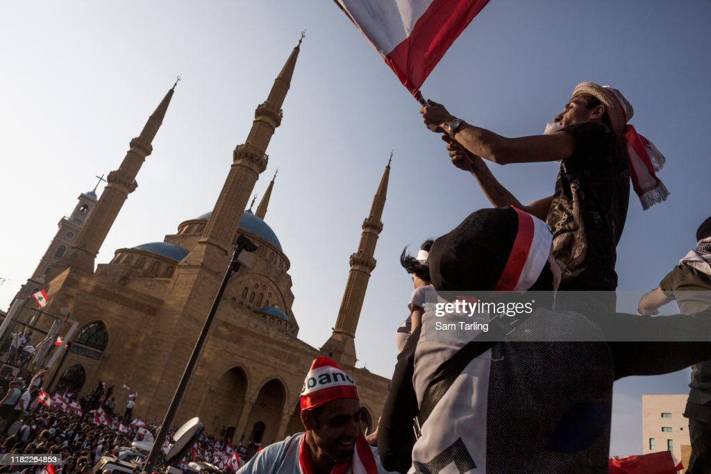Demonstrators Protest After Government Raised Taxes To Tackle Deficit : News Photo