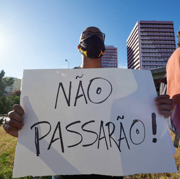 PRT: Black Lives Matter Protests Take Place In Portugal