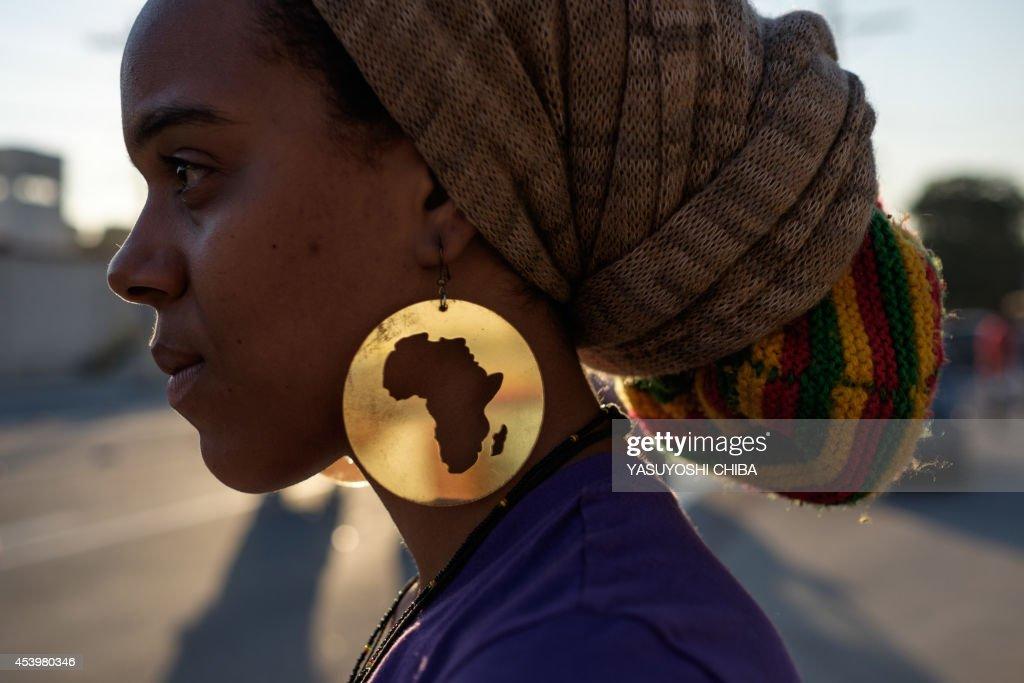 BRAZIL-BLACK-MARCH : News Photo