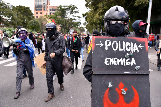 COL: Demonstrations Against Police Brutality in Bogota