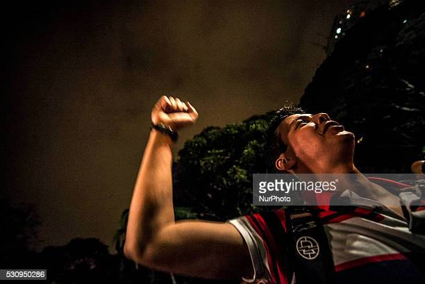 Protesters against the impeachment of Rousseff protest in free MASP on May 11 in Sao Paulo Brazil Brazil's Senate opened debate Wednesday ahead of a...