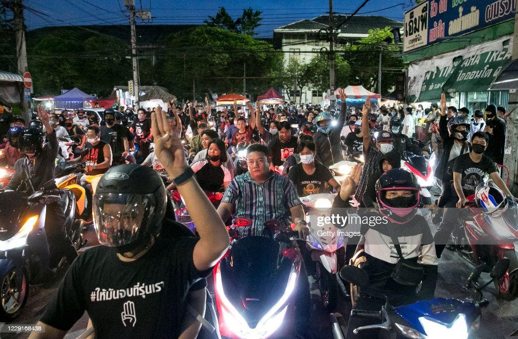 Pro-Democracy Protests Continue Across Thailand : News Photo