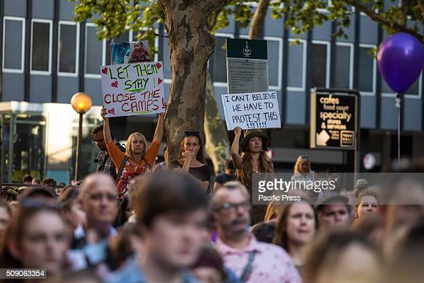 Protesters at Town Hall Square gathered to demonstrate against offshore detention With mounting public and political pressure against the Australian...