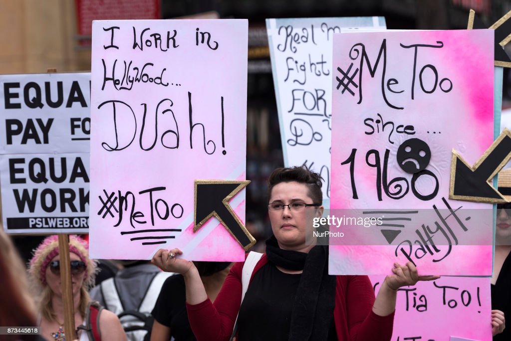 March Supporting Sexual Assault Victims Held In Los Angeles : News Photo