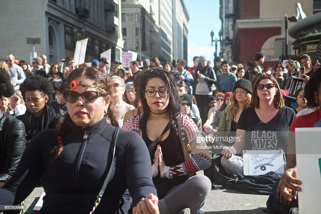 Women's March Los Angeles : News Photo