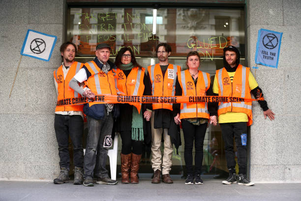 NZL: Activists Disrupt Wellington As Part Of Global Rebellion Climate Change Protests