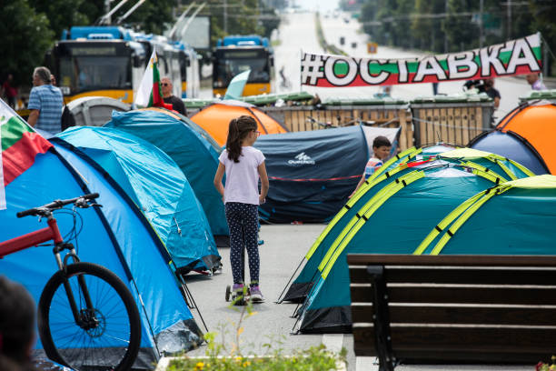 BGR: Anti Government Protest In Bulgaria