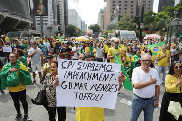 BRA: Act For Impeachment Of The Supreme Court Minister Gilmar Mendes